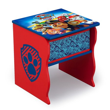 Side Table With Storage Nick Jr Paw Patrol Features An