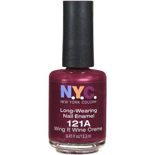 New York Color Lngwear Nail Colwing It W