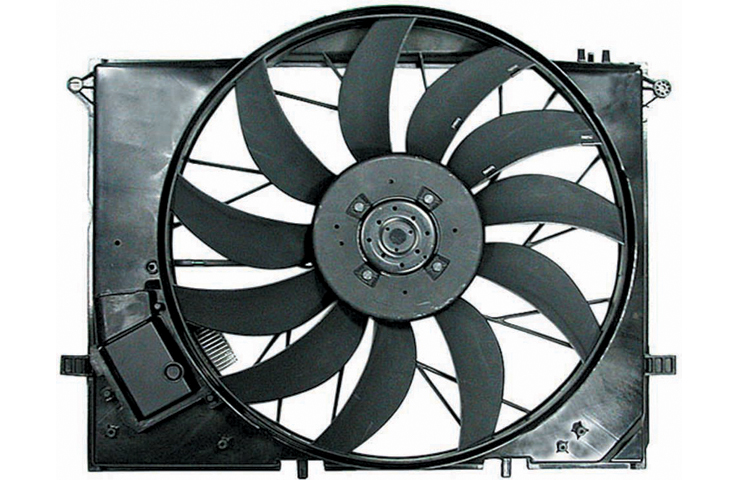 Replacement Depo 340 55012 000 Cooling Fan For C240 C350