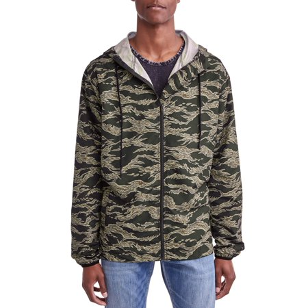 Jackson Men's Camo Windbreaker Jacket (Michael Jackson Thriller Jacket For Sale)