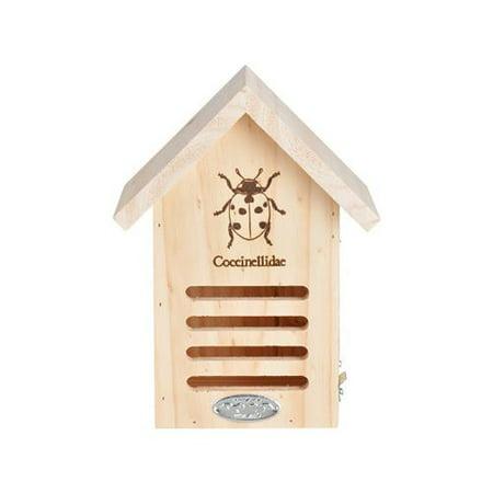 Esschert Design Usa WA37 Ladybug House, 6.7 x 4.8 x 9-In.