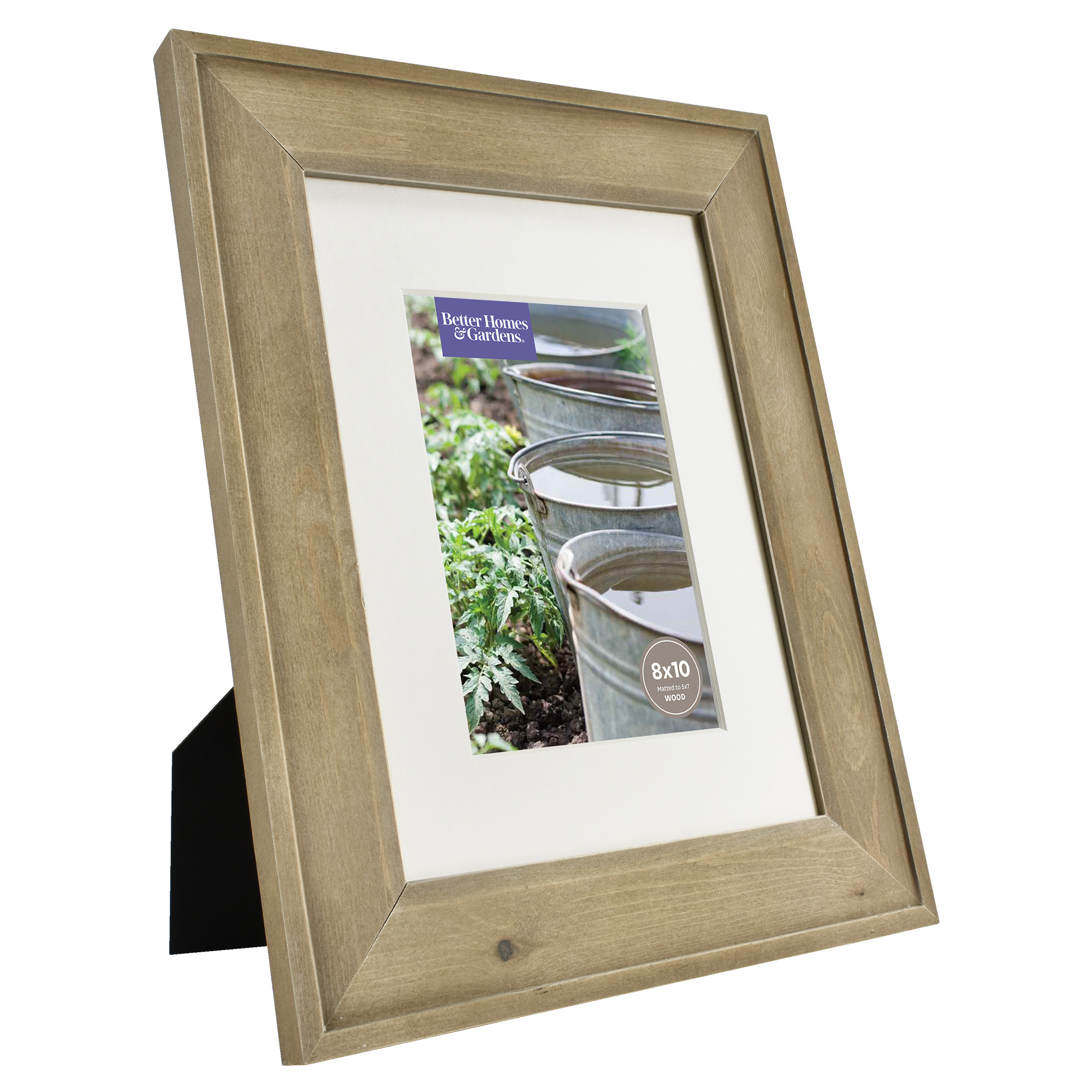 Gentil Better Homes U0026 Gardens 8x10/5x7 Rustic Wood Picture Frame, 2pk   Walmart.com
