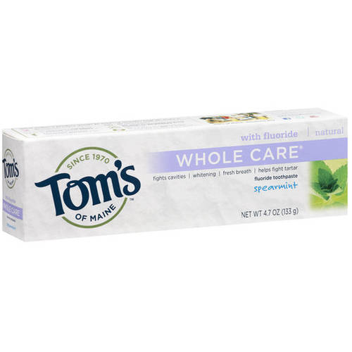 Tom's of Maine® Whole Care Spearmint Natural Toothpaste - 4.7oz