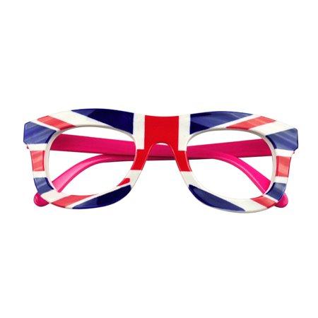 Aspire Flag Eyeglasses Kids Decoration Glasses Frame Patriotism Party-England