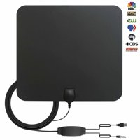 HDTV Antenna,80+ Miles Long Range Indoor Digital TV Antennas with 2019 Newest Switch Amplifier Signal Booster for Local Free Channels 4k HD 1080P