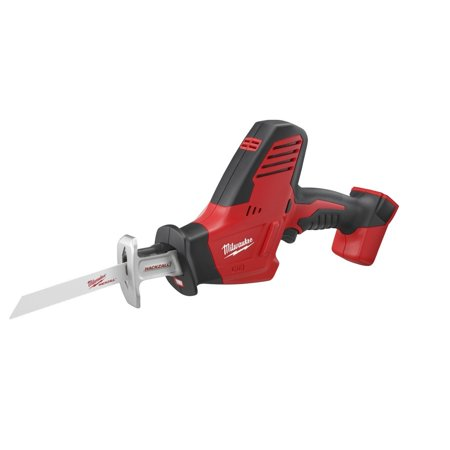 - Milwaukee 2625-20 HACKZALL® M18™ Cordless One-Handed Reciprocating Saw with Dual