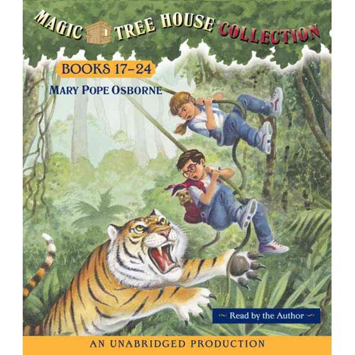 Magic Tree House Collection Books 17-24: Tonight on the Titanic/Buffalo Before Breakfast/Tigers at Twilight/Dingoes at Dinnertime/Civil War on Sunday/Revolutionary War on Wednesday/Twister on