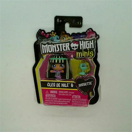 Monster High Cleo De Nile (Monster High Minis Cleo De Nile & Hissette)