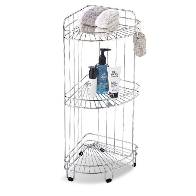Organize It All 1755 3 Shelf Corner Caddy