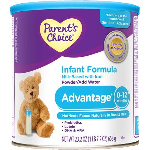 Parent's Choice - Advantage Infant Powder Formula, 23.2oz