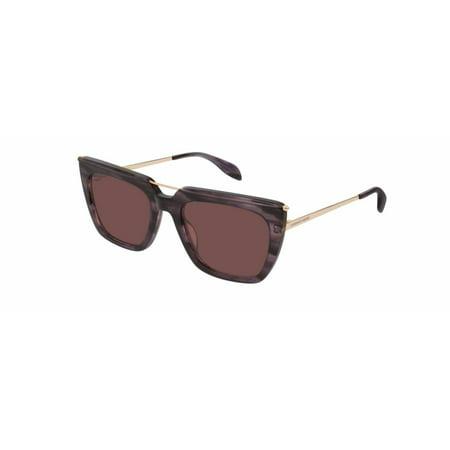 Alexander McQueen AM0169S Unisex Sunglasses 54mm 005 - Lightning Mcqueen Sunglasses