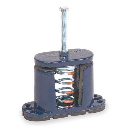 MASON 5C127 Floor Mount Vibration Isolator, Spring