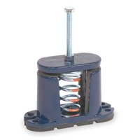 MASON 5C127 Floor Mount Vibration Isolator, Spring