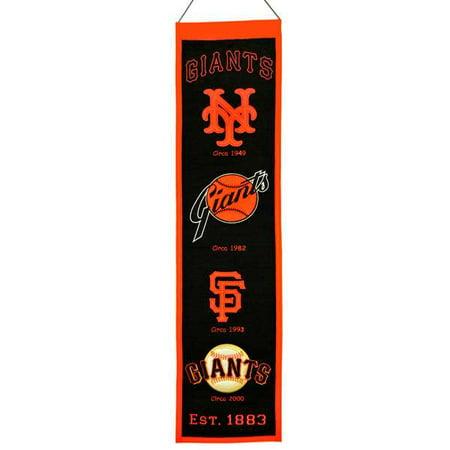 MLB Heritage Banner, San Francisco Giants