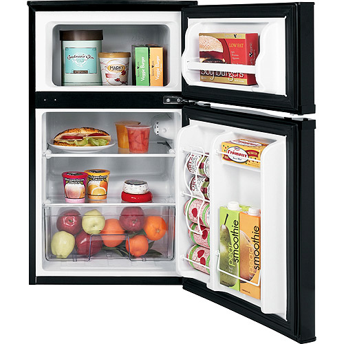 Ge 3 1 Cu Ft 2 Door Compact Refrigerator Black