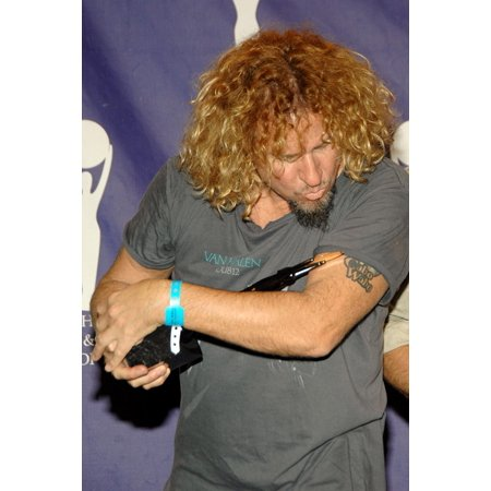 Sammy Hagar Of Van Halen In The Press Room For Induction Ceremony Rock And Roll Hall Of Fame Waldorf-Astoria Hotel New York Ny March 12 2007 Photo By George TaylorEverett Collection (Prince Rock And Roll Hall Of Fame Induction)