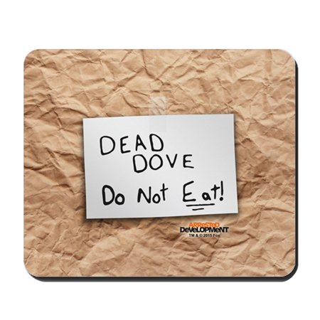 CafePress - Arrested Development Dead Dove - Non-slip Rubber Mousepad, Gaming Mouse Pad - Dead Mouse Head For Sale