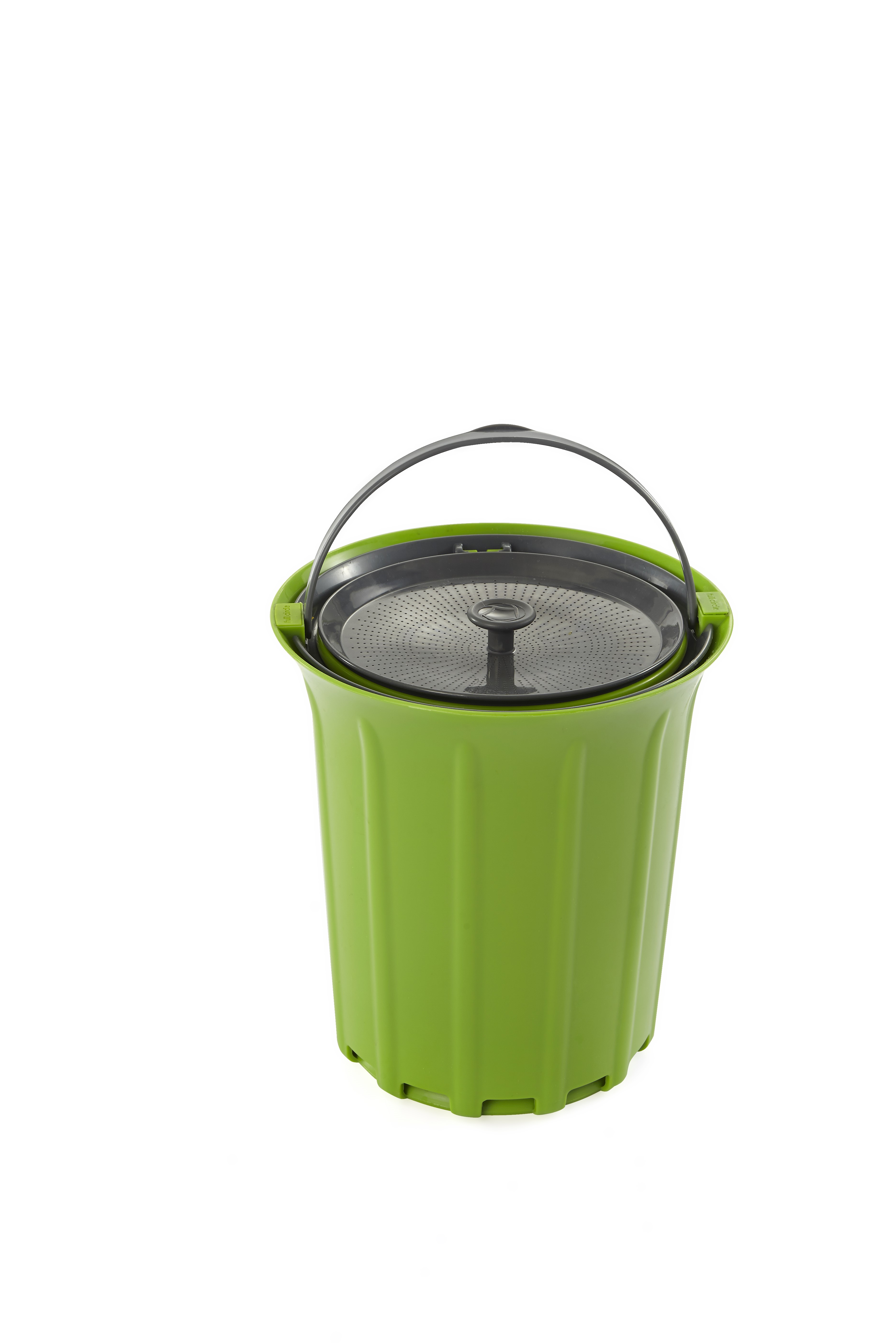 Full Circle Breeze Odor-Free Countertop Compost Collector, Green Slate by Full Circle Home, LLC
