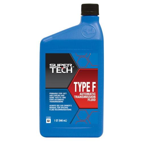 Automatic Transmission Fluid >> Super Tech Automatic Transmission Fluid Type F - Walmart.com