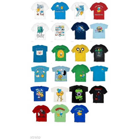 Adventure Time With Finn And Jake Adult Men T-Shirt S, M, L, XL, 2XL for $<!---->