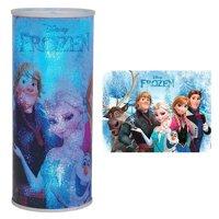 Westland Giftware Cylindrical Nightlight, Disney Frozen