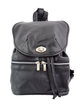 a1a9df51a0 Product Image DOUBLE COMPARTMENT LEATHER BACKPACK