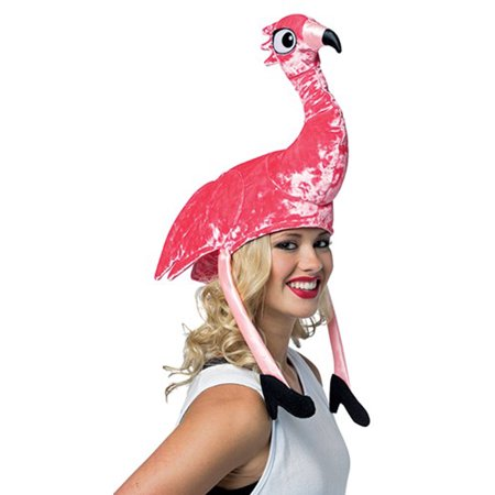 Flamingo Hat Adult Halloween Accessory