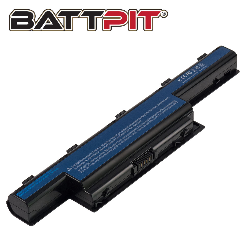 BattPit: Laptop Battery Replacement for Acer Aspire V3-571-6643 AS10D AS10D71 BT.00605.072 BT.0060G.001 BT.00607.130