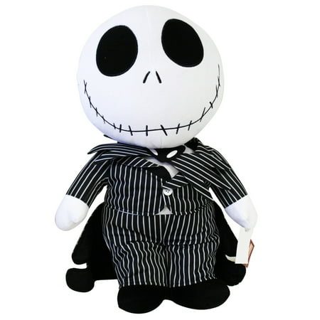the nightmare before christmas jack skellington plush toy wsecret pocket 21in