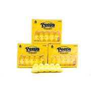 Yellow Marshmallow Peeps - 3 Packs of 10 Classic Easter Holiday Candy - Gluten & Fat Free Snacks - Old School Marshmallow Treats - Classic Marshmallow Chicks