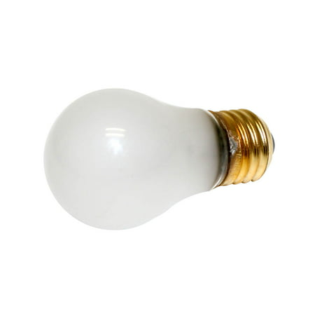 40 Watt Light Bulb, A15, Frosted, Appliance, 3000 Life Hours, 290 Lumens, 130V, Halco