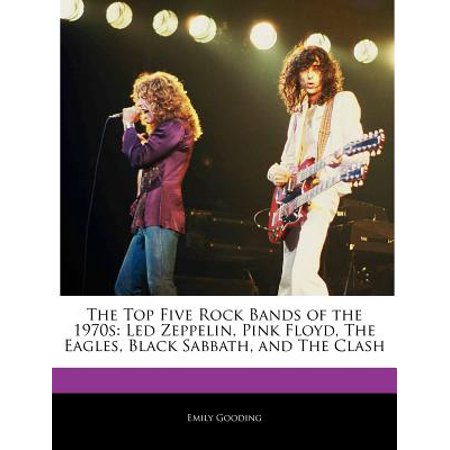 The Top Five Rock Bands of the 1970s (Paperback)