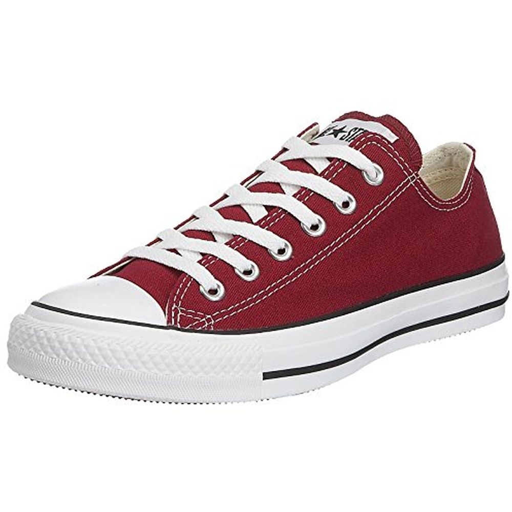 Converse M9691C-085 Unisex Chuck Taylor All Star Low Top Shoes, Maroon, 8.5 M US Men  10.5 M US Women by Converse