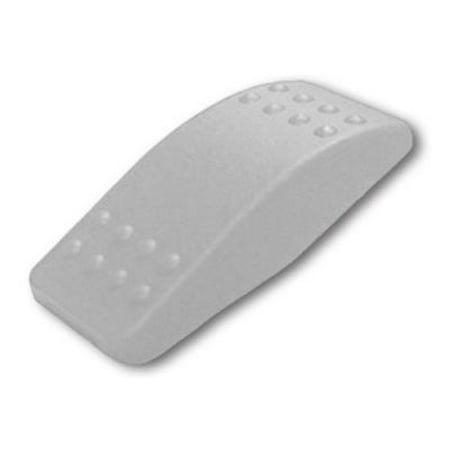 Contura Switch Actuator - 4PK Carling Technologies Contura II Switch Actuator, Plastic, Gray, No Lens