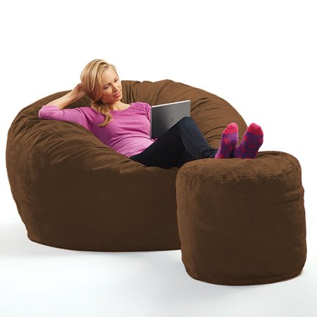 Sack Micro Suede Theater Sack Bean Bag Chair