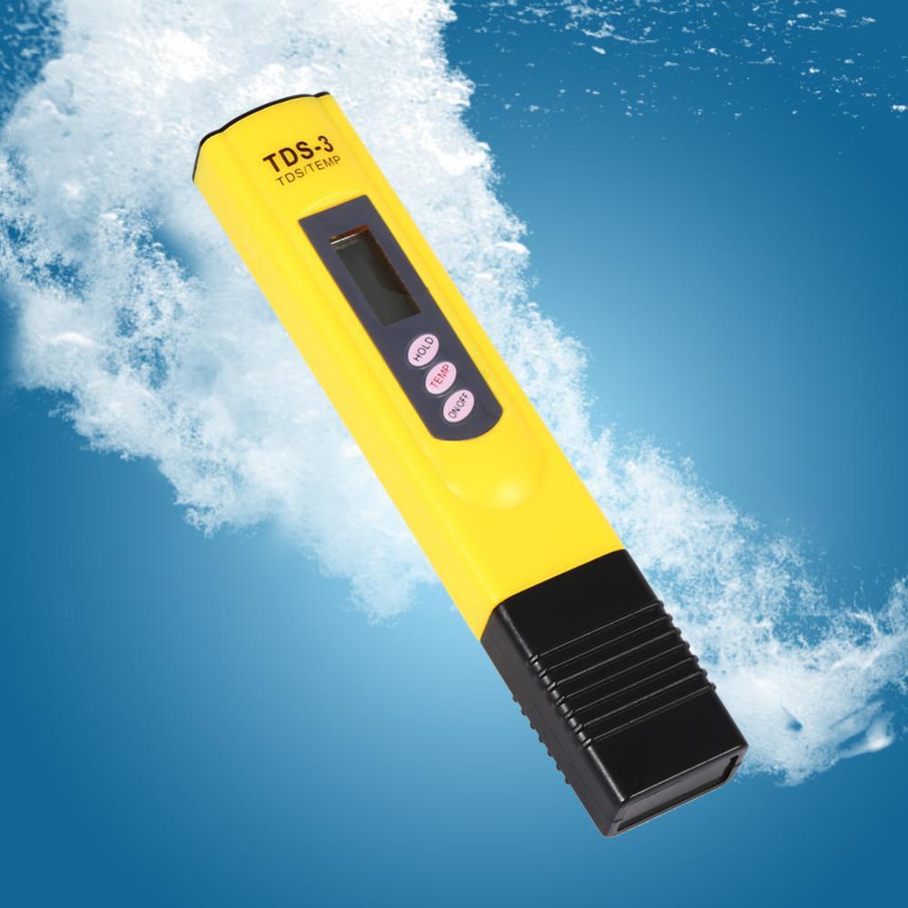VBESTLIFE Water Quality Testing Pen TDS Meter Tester,Digital LCD Water Quality Testing Pen Purity Filter TDS Meter Tester 0-9990 PPM