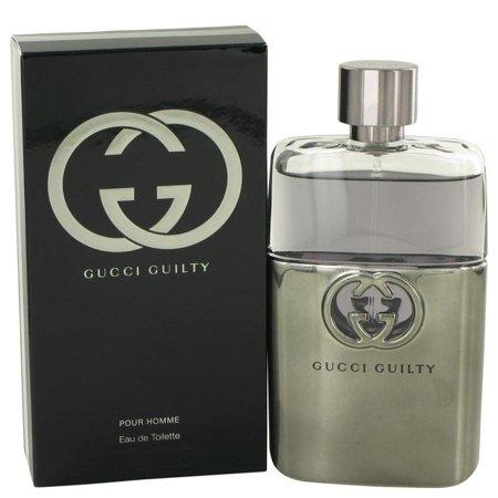Gucci Guilty by Gucci - Men - Eau De Toilette Spray 3 oz Gucci Guilty by Gucci - Men - Eau De Toilette Spray 3 oz
