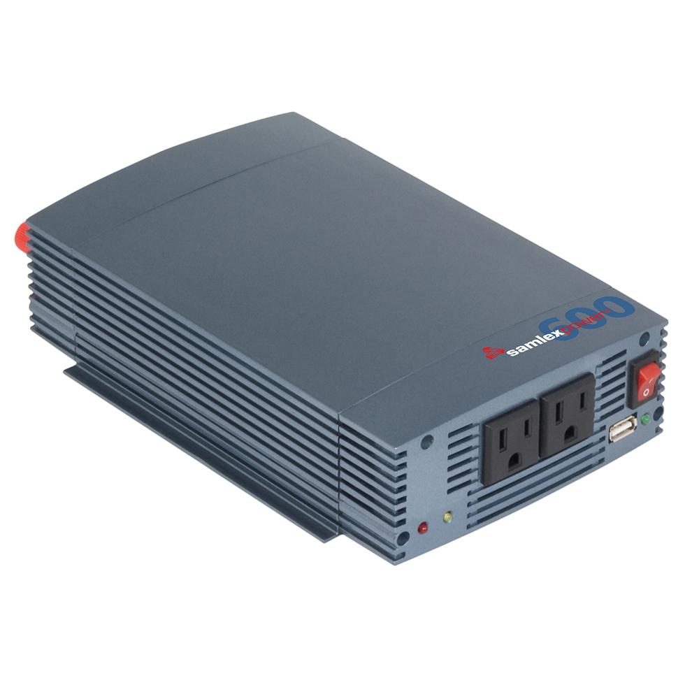 SAMLEX SSW-600-12A PURE SINE WAVE INVERTER 12V INPUT 115