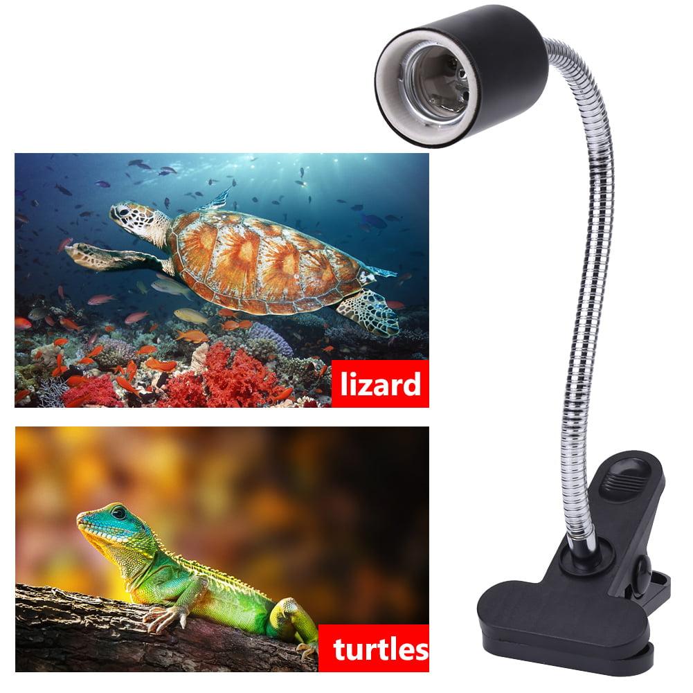 Adjustable Heating Light Holder Aquarium Clamp Lamp Fixture for Reptile Turtles    , Reptile Light, Aquarium Clamp Lamp