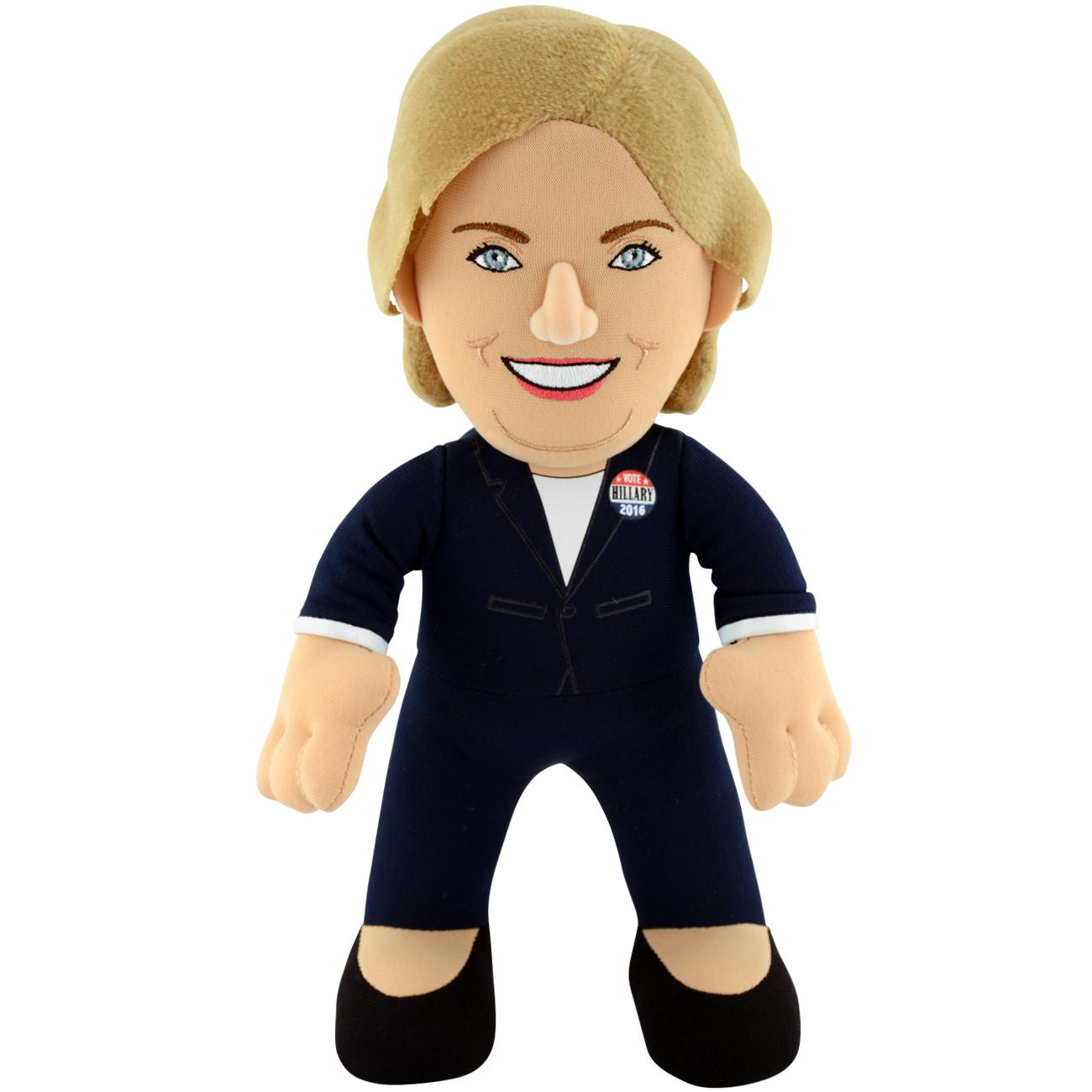 "Historical 10"" Plush Figure Hillary Clinton"