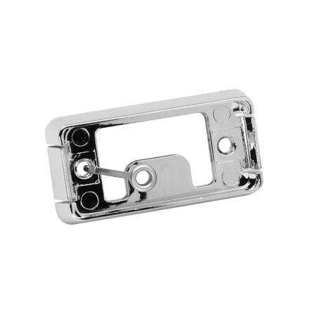 Wesbar 106293 Clearance Light Base   Chrome   2   Snap Lock   Open Back