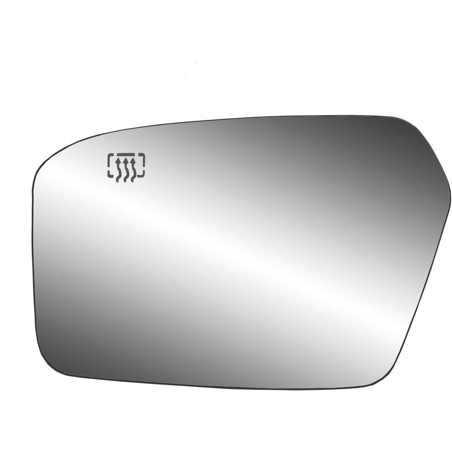 Fit System 30238 Mazda2//Mazda3 Right Side Heated Power Replacement Mirror Glass with Backing Plate