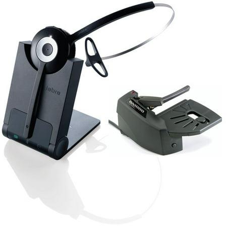 Jabra PRO 925 Single Connectivity Mono Wireless Headset w/ GN1000 Remote Handset Lifter