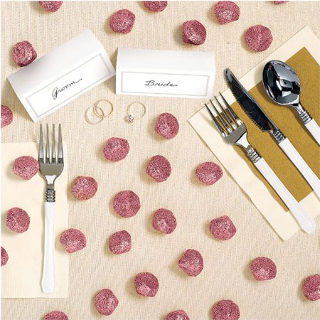 Wedding and Bridal Foam Glitter Diamond Table Scatter (40ct)