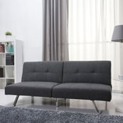 Gold Sparrow Victorville Foldable Fabric Futon Sofa