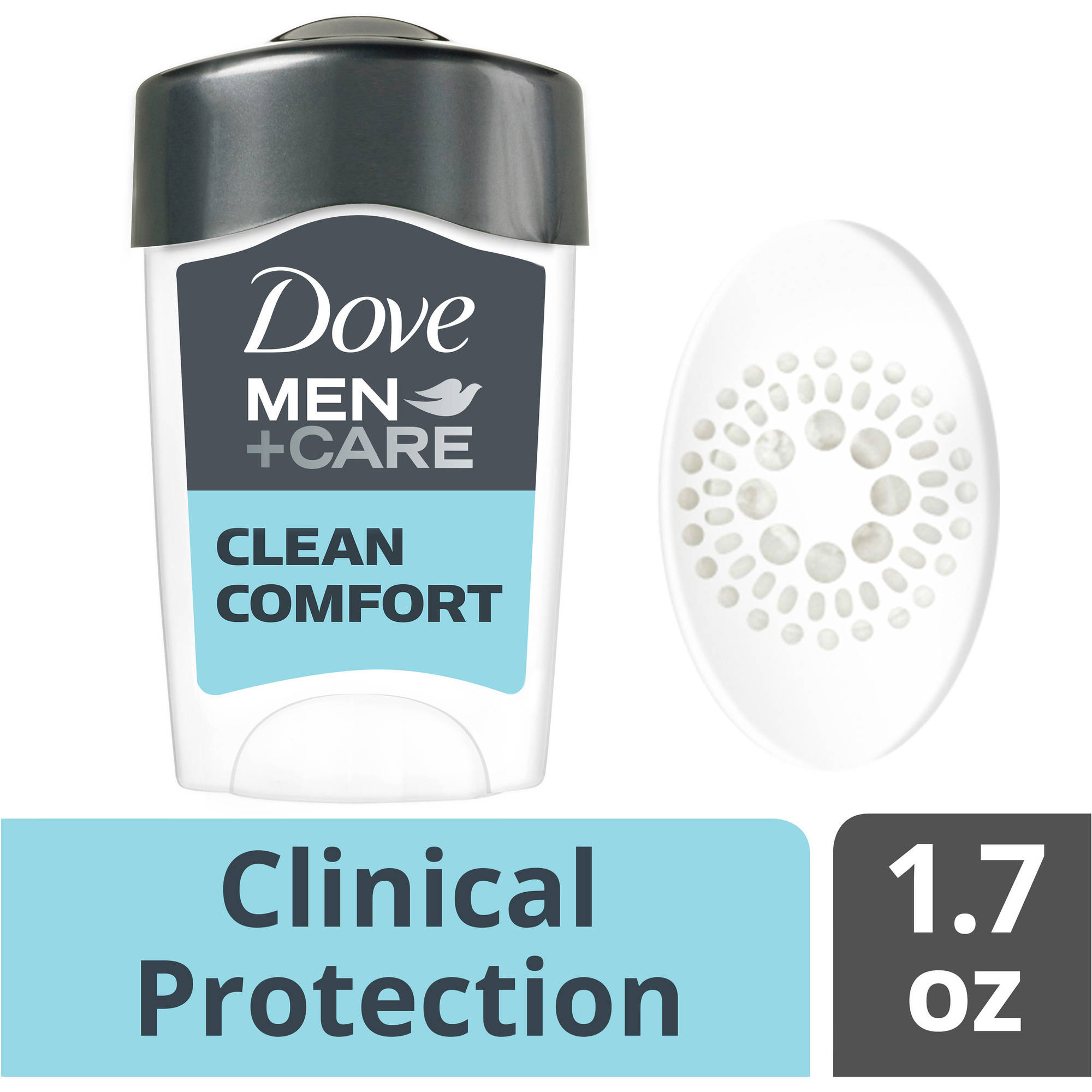 Dove Men Care Clinical Protection Clean Comfort Antiperspirant Deodorant, 1.7 oz