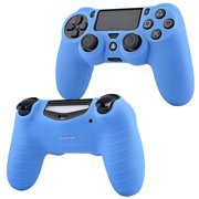 For ps4 controller skin by Insten Comfy Soft Rubber Silicone Skin Case Cover For Sony PlayStation 4 PS4 Remote Controller