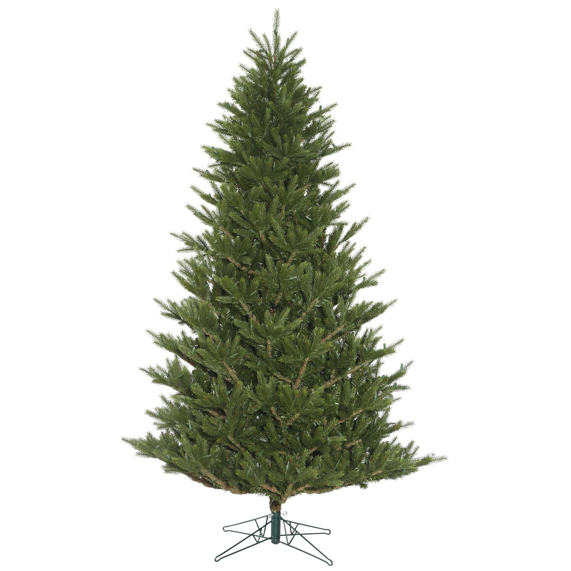 """Where To Cut Christmas Trees: Vickerman Artificial Christmas Tree 7.5' X 57"""" Fresh Cut"""