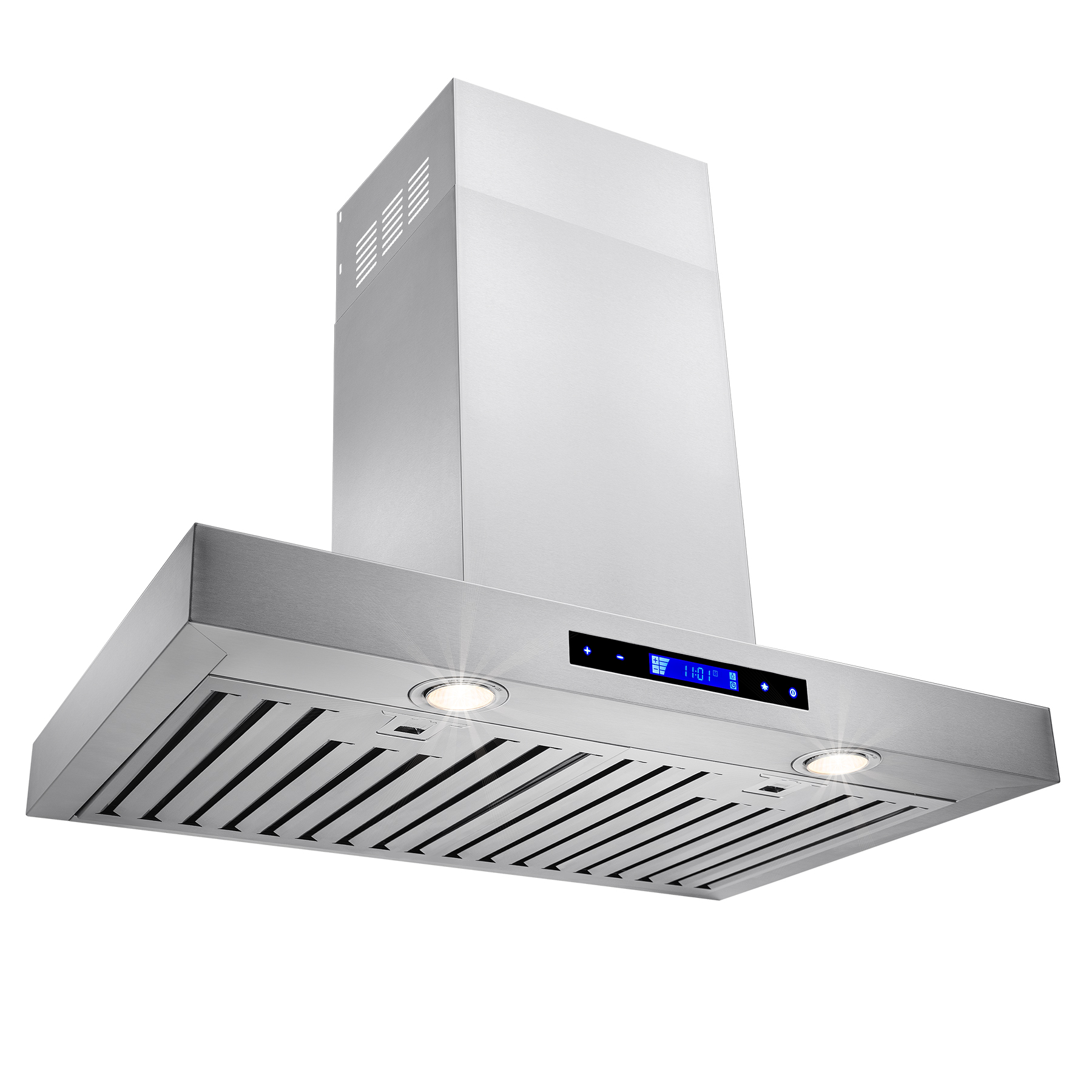 """Image of AKDY 30"""" Stainless Steel Wall Mount Powerful Range Hood Kitchen Stove Vents Touch Panel with Remote Control"""