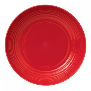MAZE CHILLI RED SERVING BOWL 11.8""